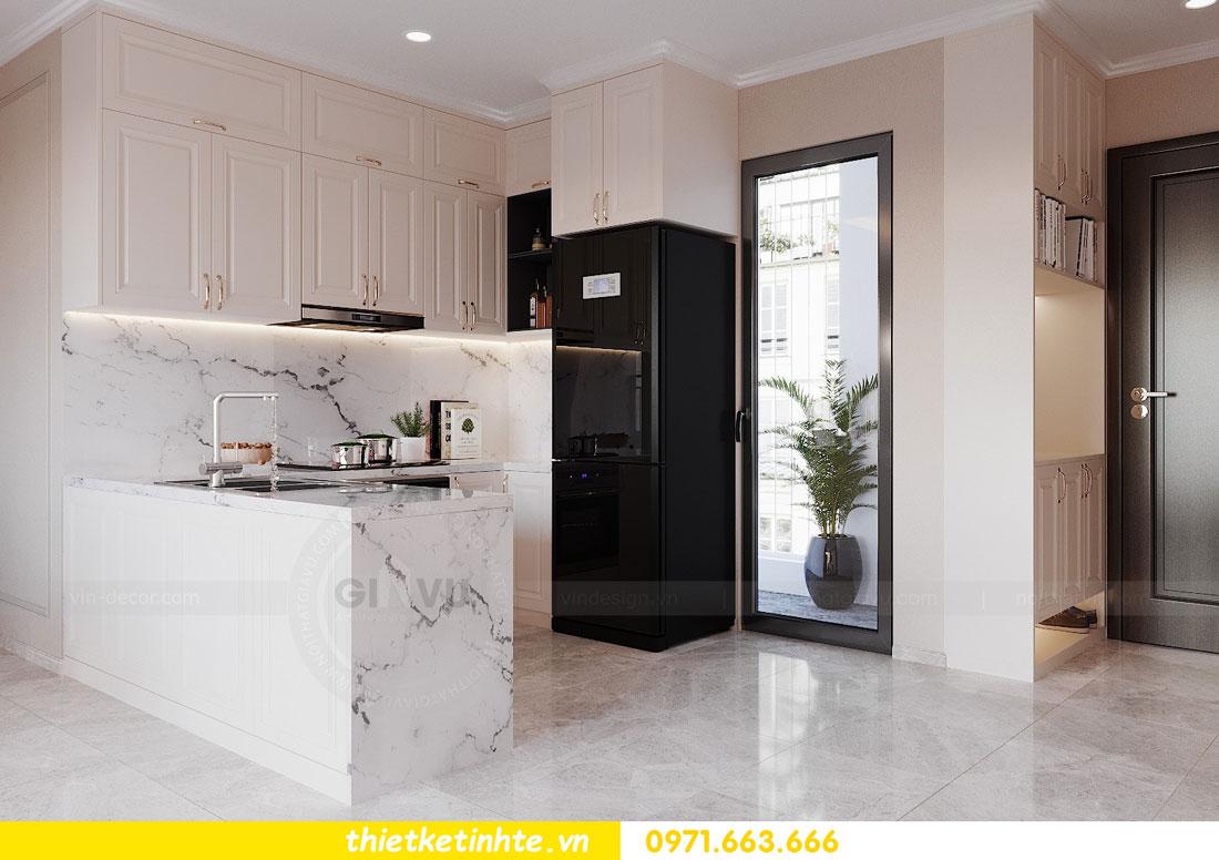 thiết kế nội thất chung cư 90m2 3 phòng ngủ hiện đại 02