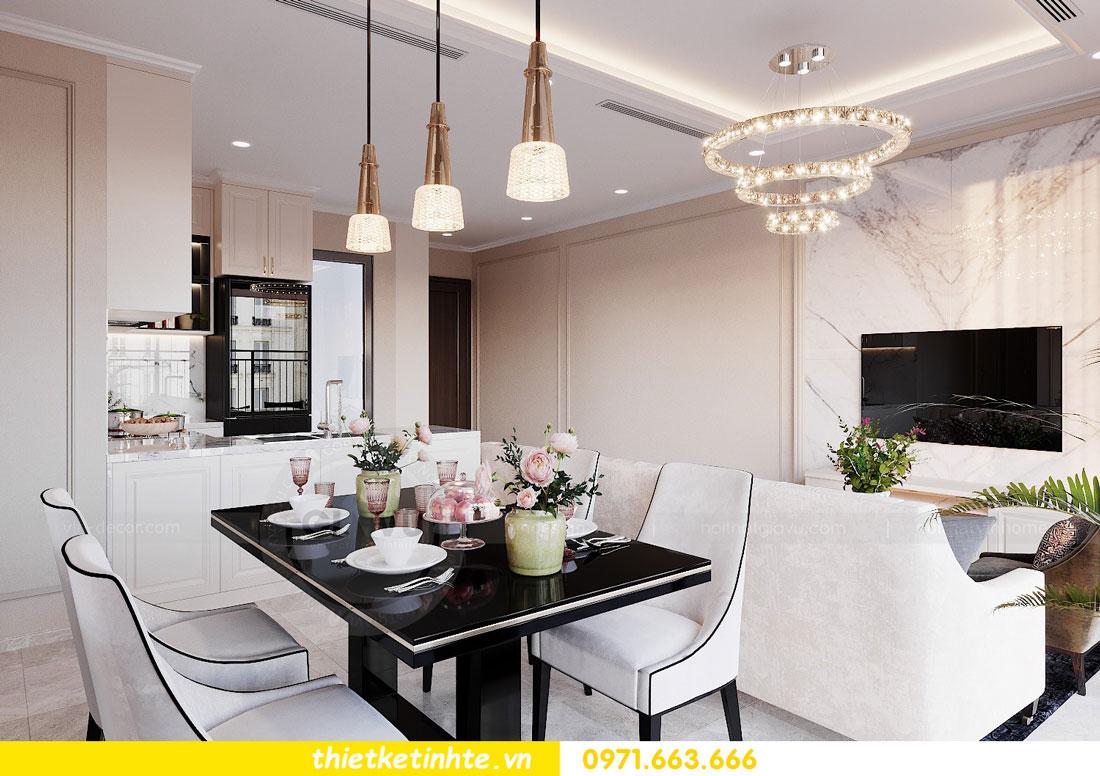 thiết kế nội thất chung cư 90m2 3 phòng ngủ hiện đại 03