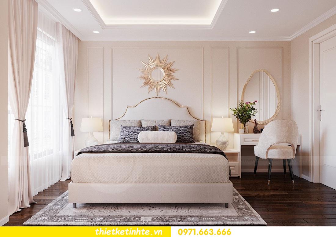 thiết kế nội thất chung cư 90m2 3 phòng ngủ hiện đại 05