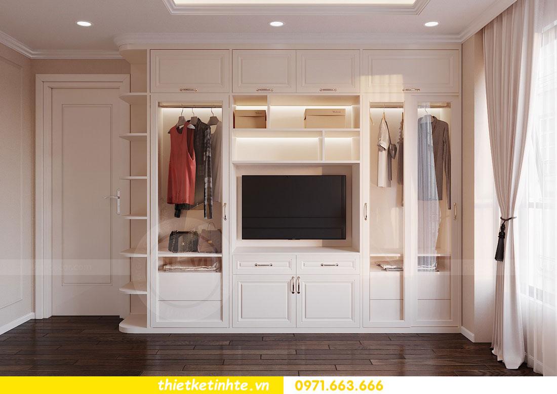 thiết kế nội thất chung cư 90m2 3 phòng ngủ hiện đại 06