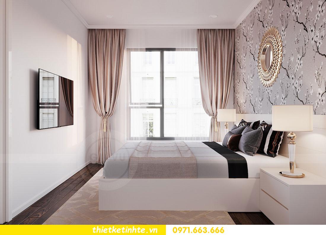 thiết kế nội thất chung cư 90m2 3 phòng ngủ hiện đại 07