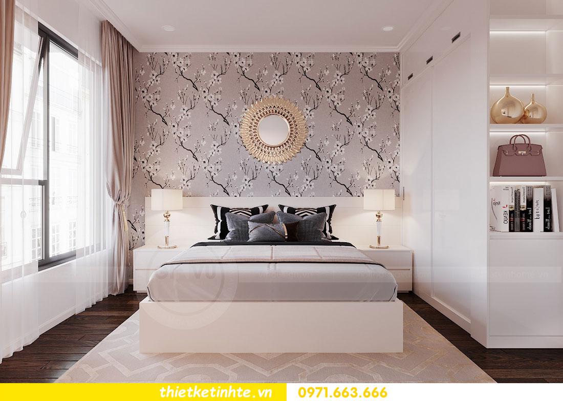 thiết kế nội thất chung cư 90m2 3 phòng ngủ hiện đại 08