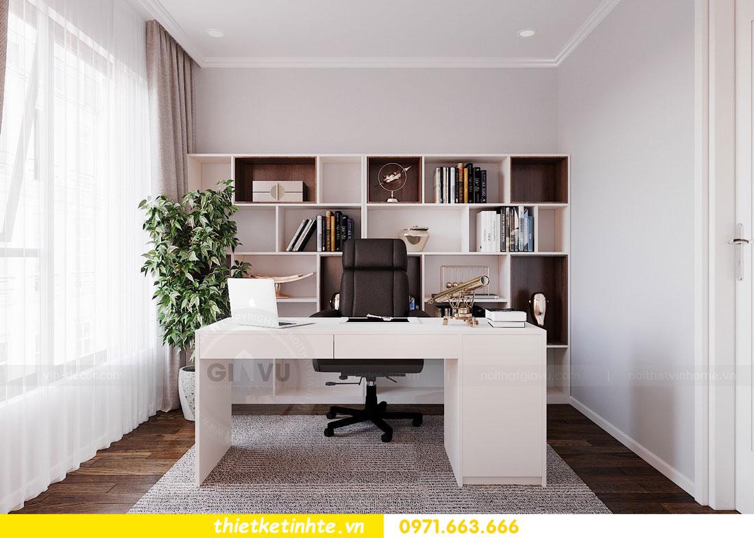 thiết kế nội thất chung cư 90m2 3 phòng ngủ hiện đại 09