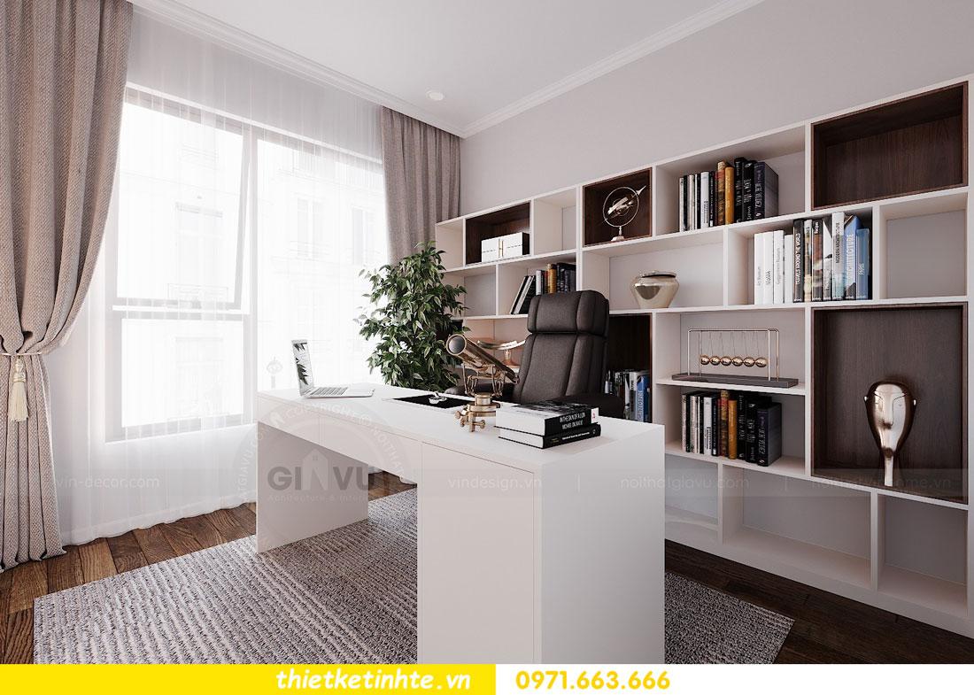 thiết kế nội thất chung cư 90m2 3 phòng ngủ hiện đại 10