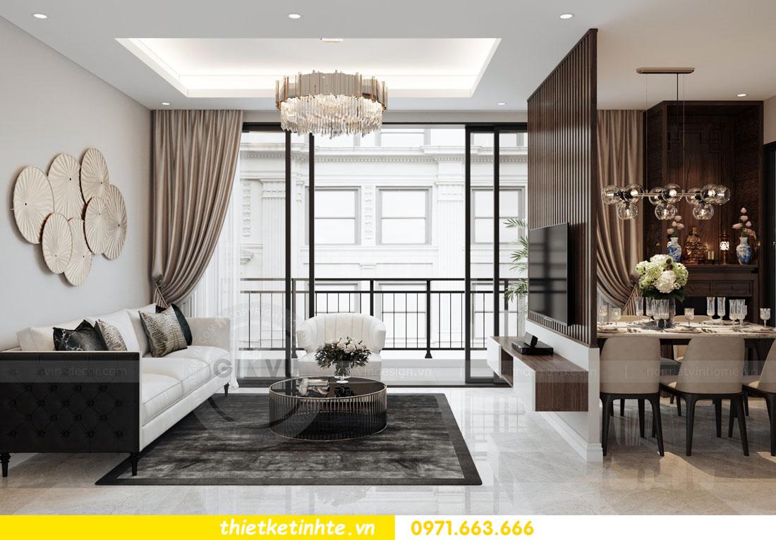 thiết kế nội thất chung cư 90m2 tại dự án DCapitale anh Đoan 02