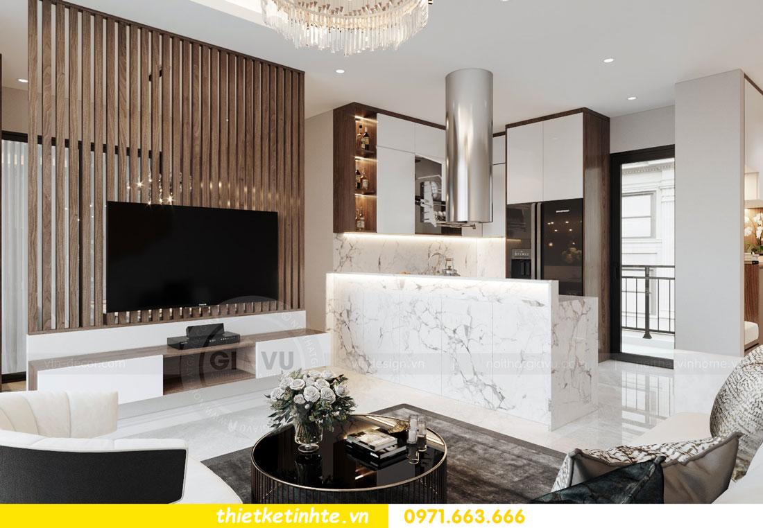 thiết kế nội thất chung cư 90m2 tại dự án DCapitale anh Đoan 03
