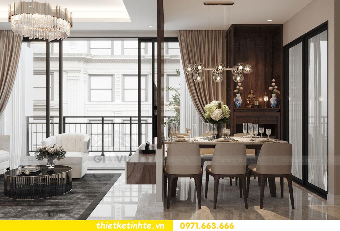 thiết kế nội thất chung cư 90m2 tại dự án DCapitale anh Đoan 04
