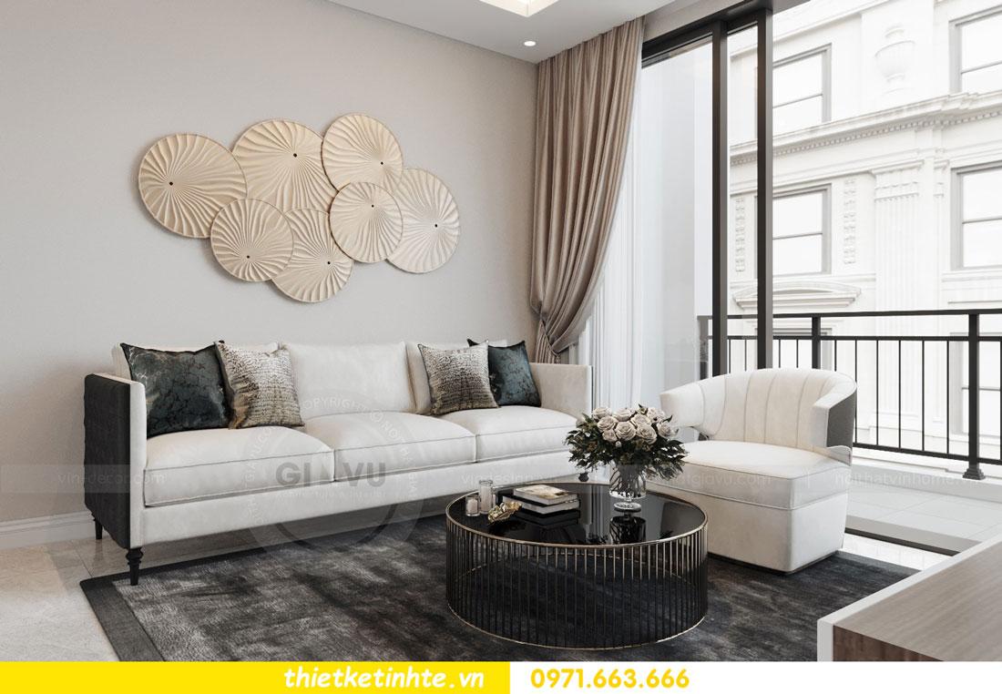 thiết kế nội thất chung cư 90m2 tại dự án DCapitale anh Đoan 05