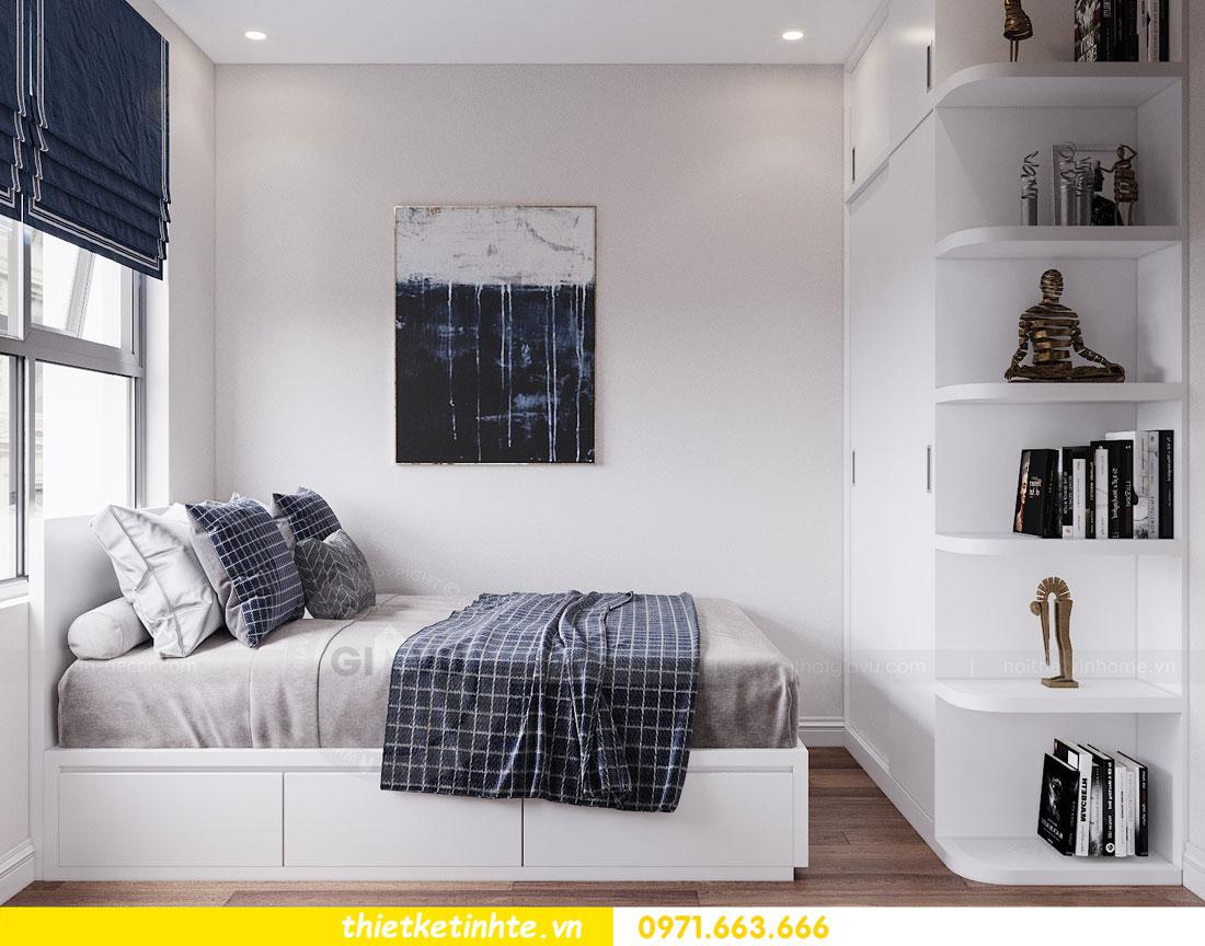 thiết kế nội thất chung cư 90m2 tại dự án DCapitale anh Đoan 09