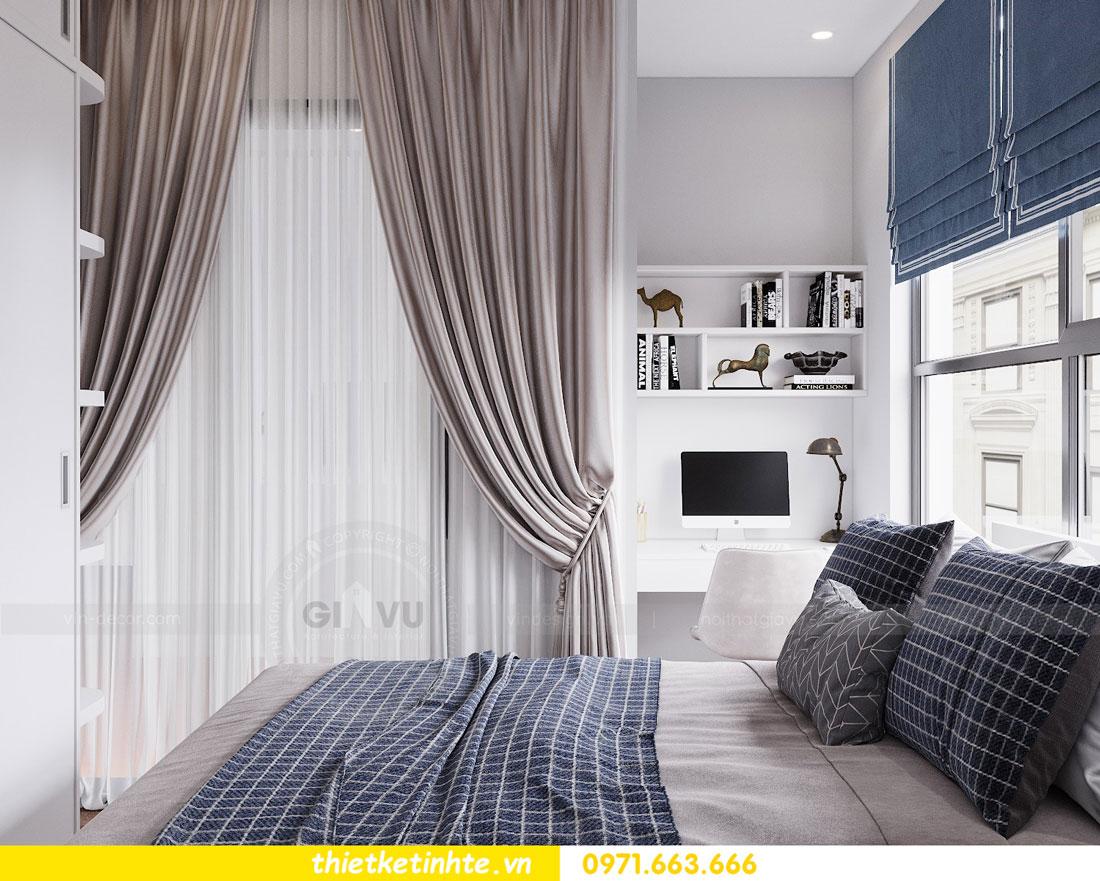 thiết kế nội thất chung cư 90m2 tại dự án DCapitale anh Đoan 11
