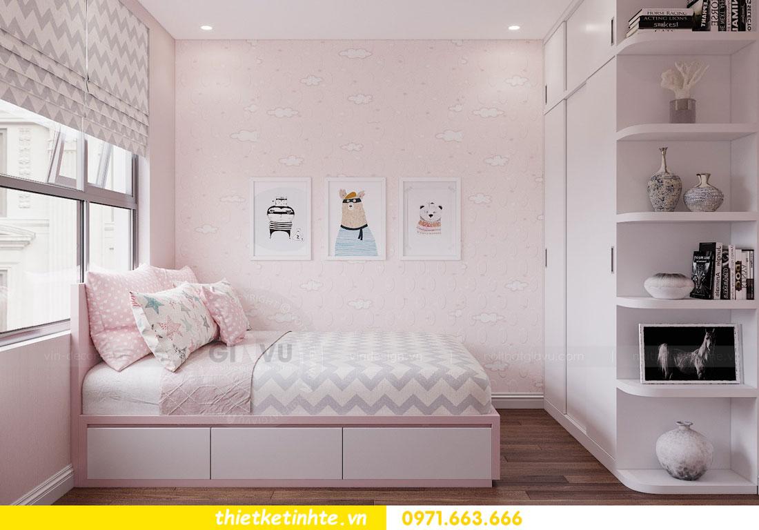 thiết kế nội thất chung cư 90m2 tại dự án DCapitale anh Đoan 13