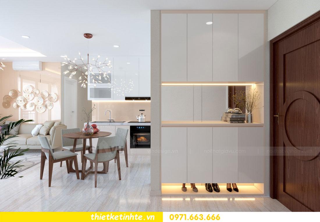 thiết kế nội thất chung cư căn 3 phòng ngủ tại DCapitale 01
