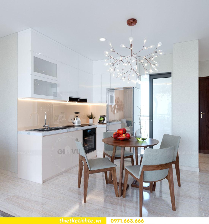 thiết kế nội thất chung cư căn 3 phòng ngủ tại DCapitale 02