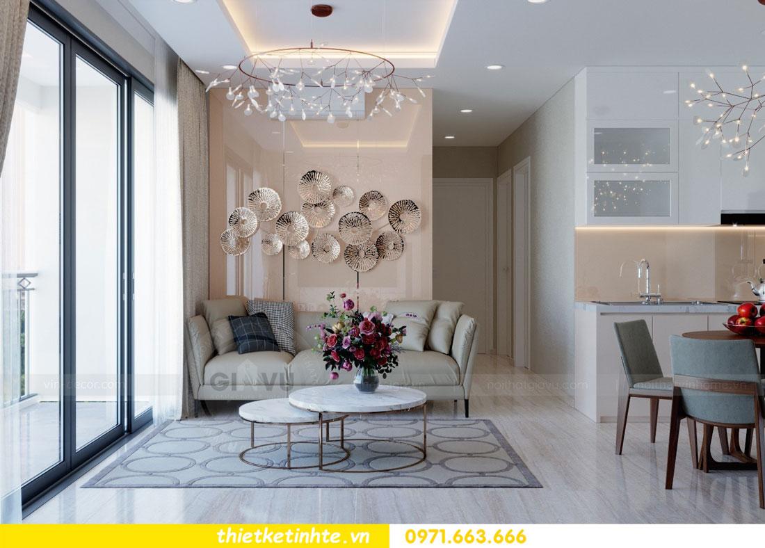 thiết kế nội thất chung cư căn 3 phòng ngủ tại DCapitale 04