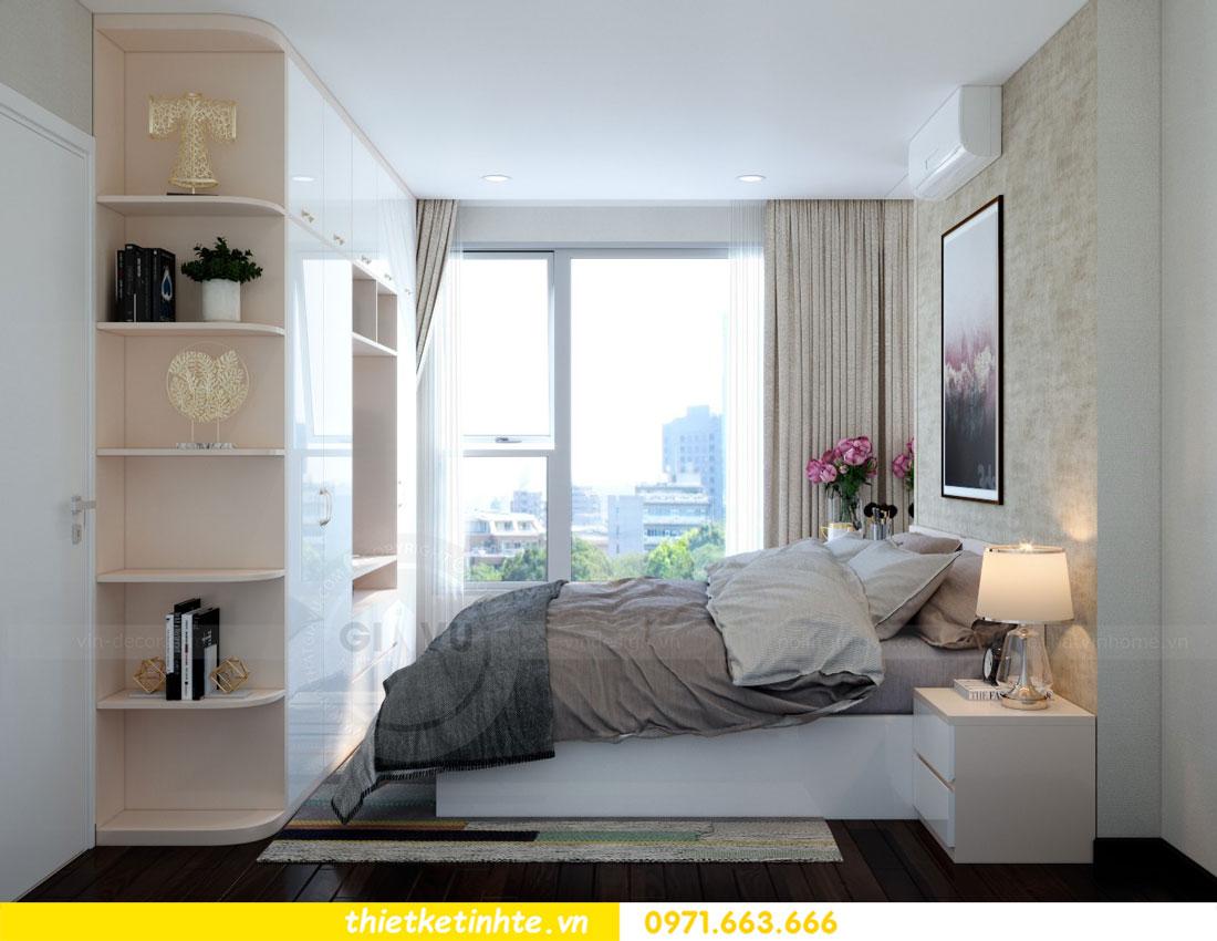 thiết kế nội thất chung cư căn 3 phòng ngủ tại DCapitale 06