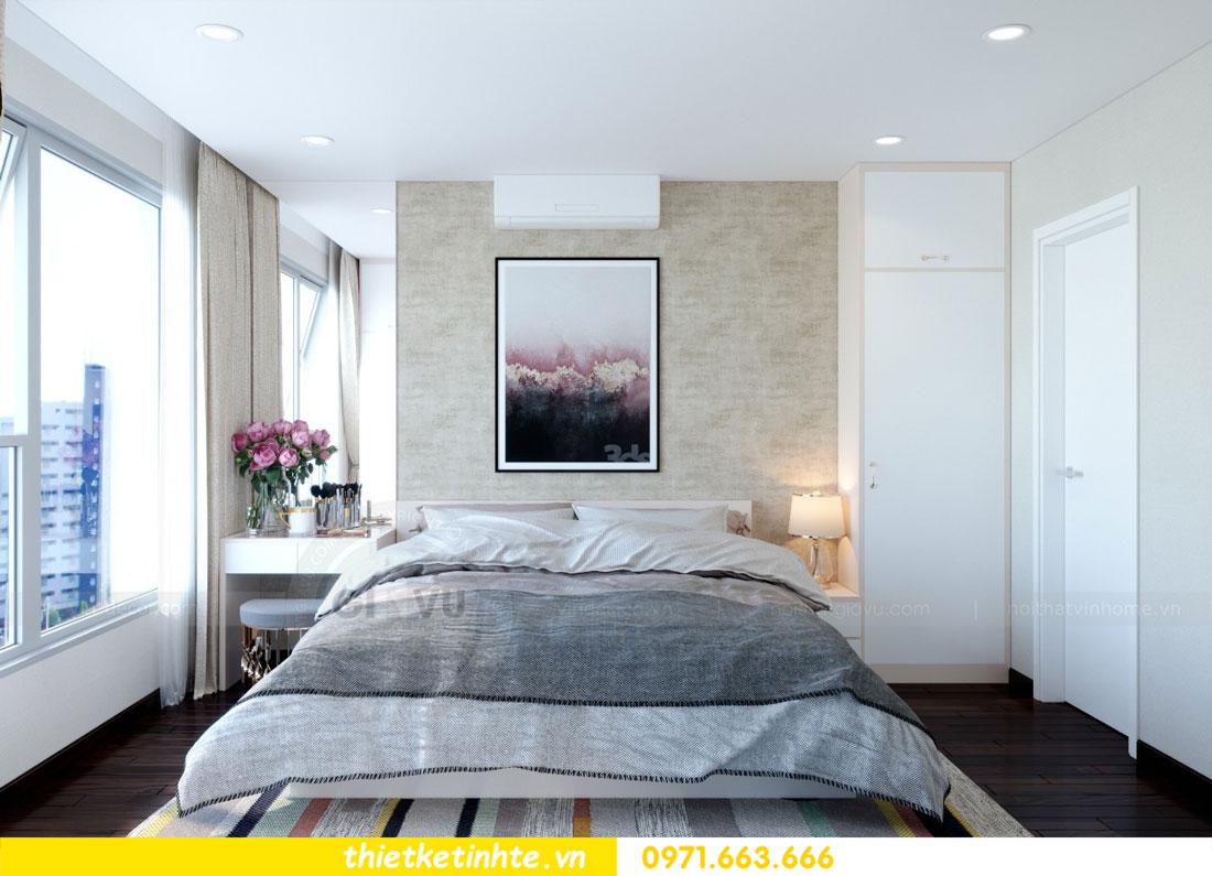 thiết kế nội thất chung cư căn 3 phòng ngủ tại DCapitale 07
