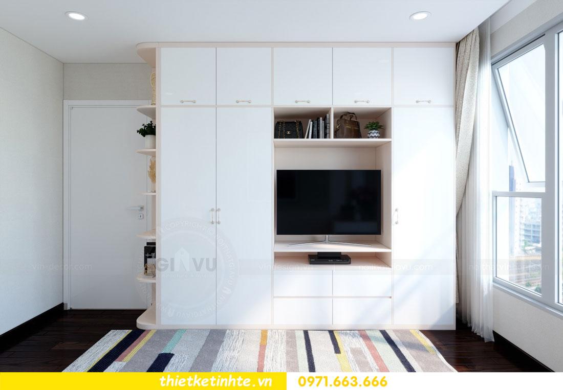 thiết kế nội thất chung cư căn 3 phòng ngủ tại DCapitale 08
