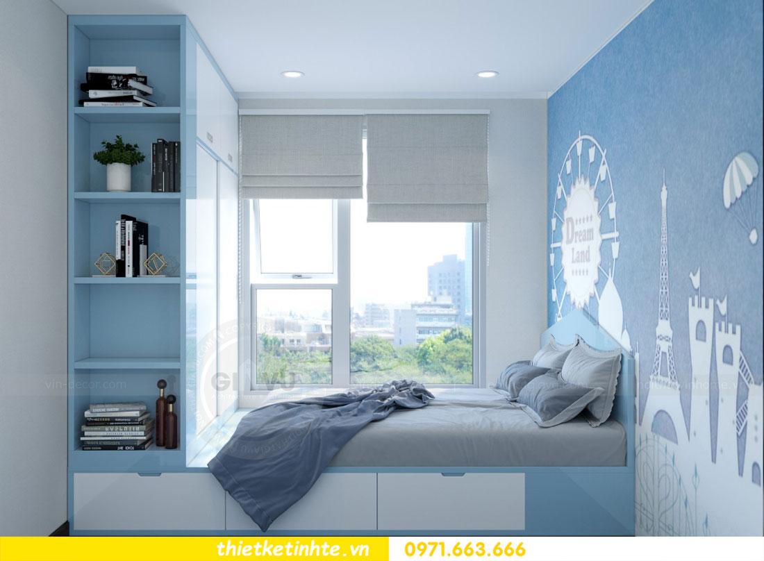 thiết kế nội thất chung cư căn 3 phòng ngủ tại DCapitale 11