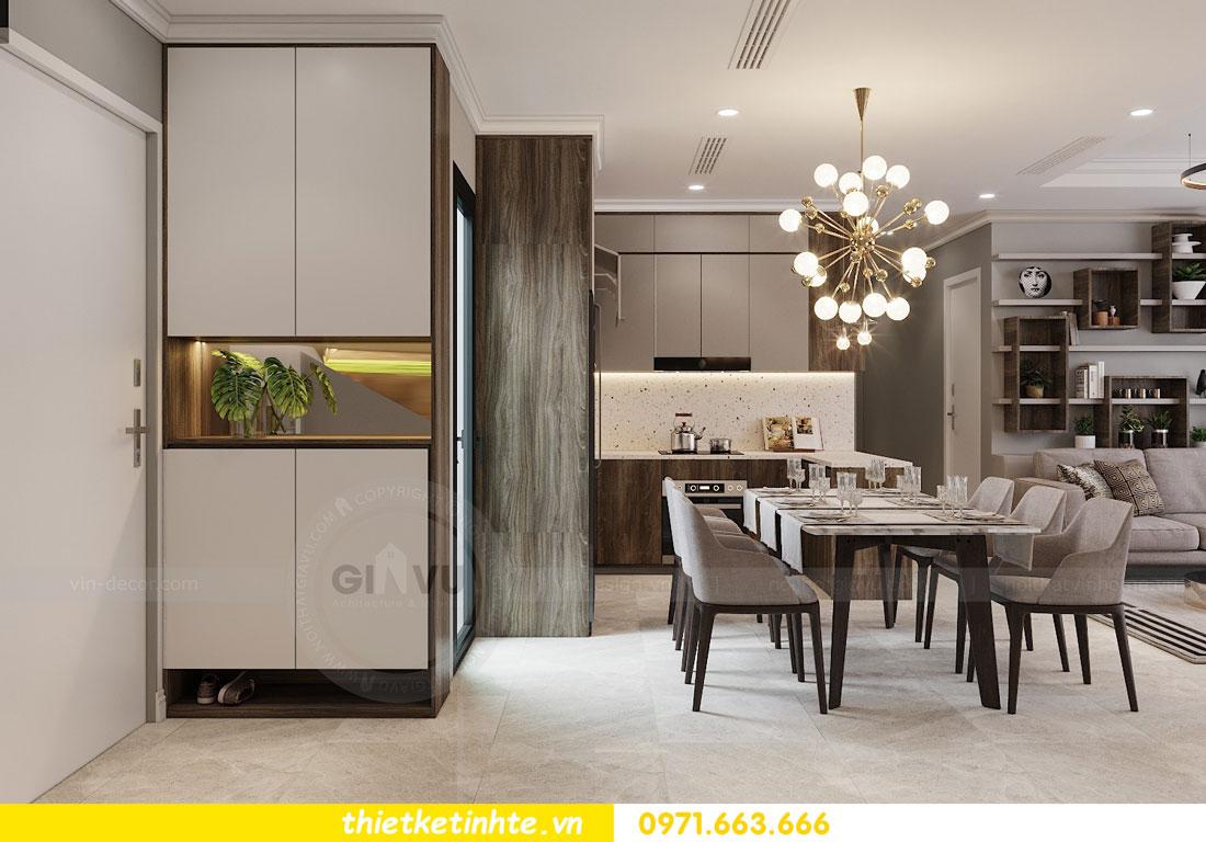 thiết kế nội thất chung cư không gian mở nhà chị Hạnh 01