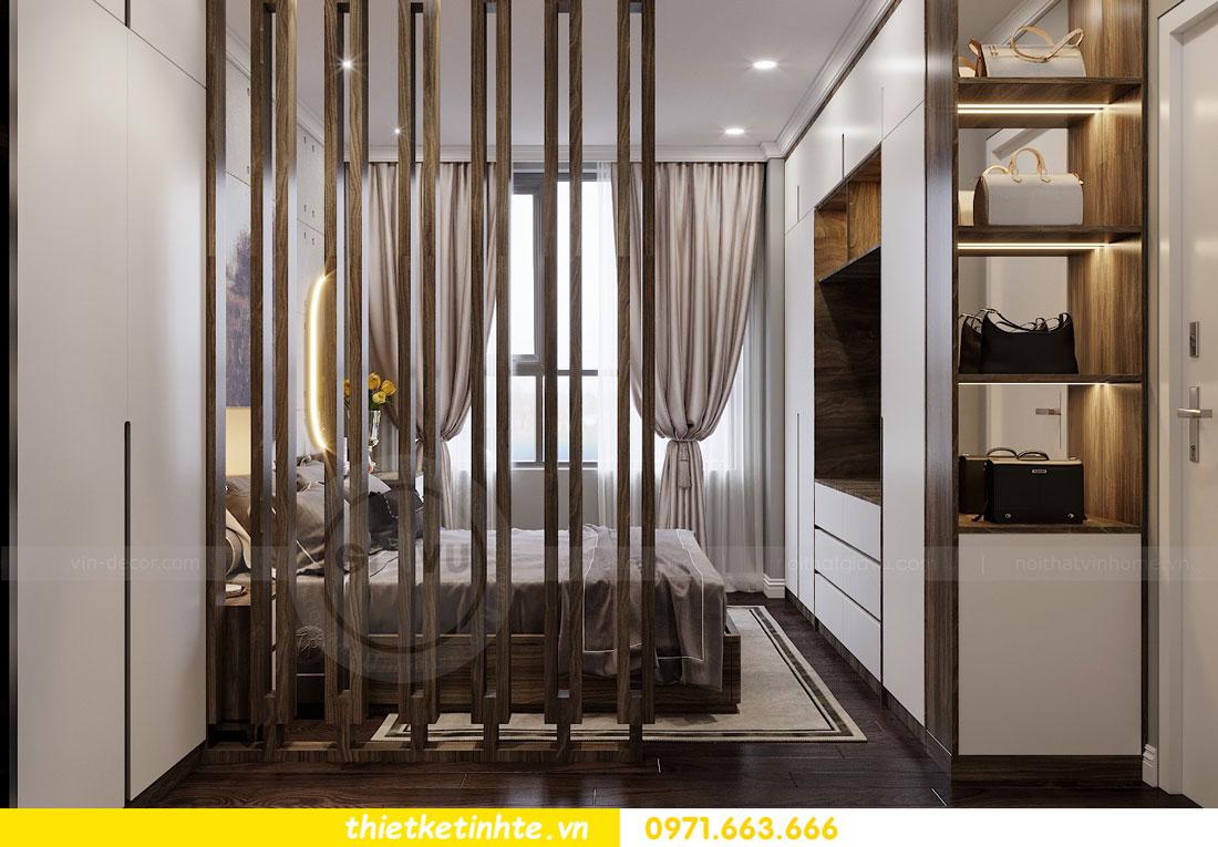 thiết kế nội thất chung cư không gian mở nhà chị Hạnh 07