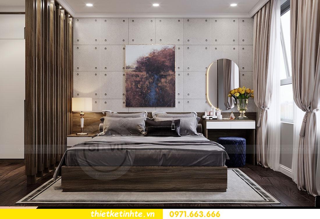 thiết kế nội thất chung cư không gian mở nhà chị Hạnh 08