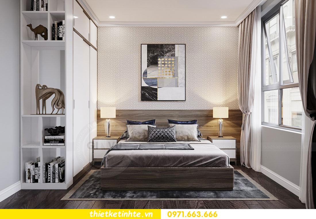 thiết kế nội thất chung cư không gian mở nhà chị Hạnh 10