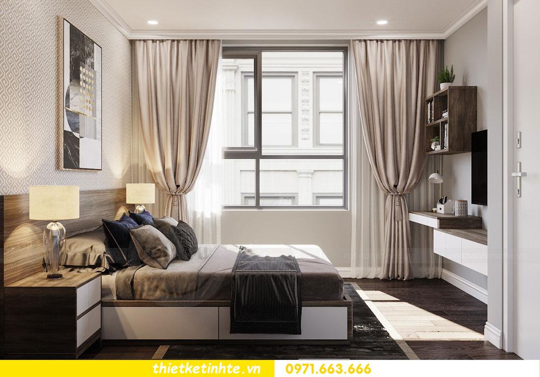 thiết kế nội thất chung cư không gian mở nhà chị Hạnh 11