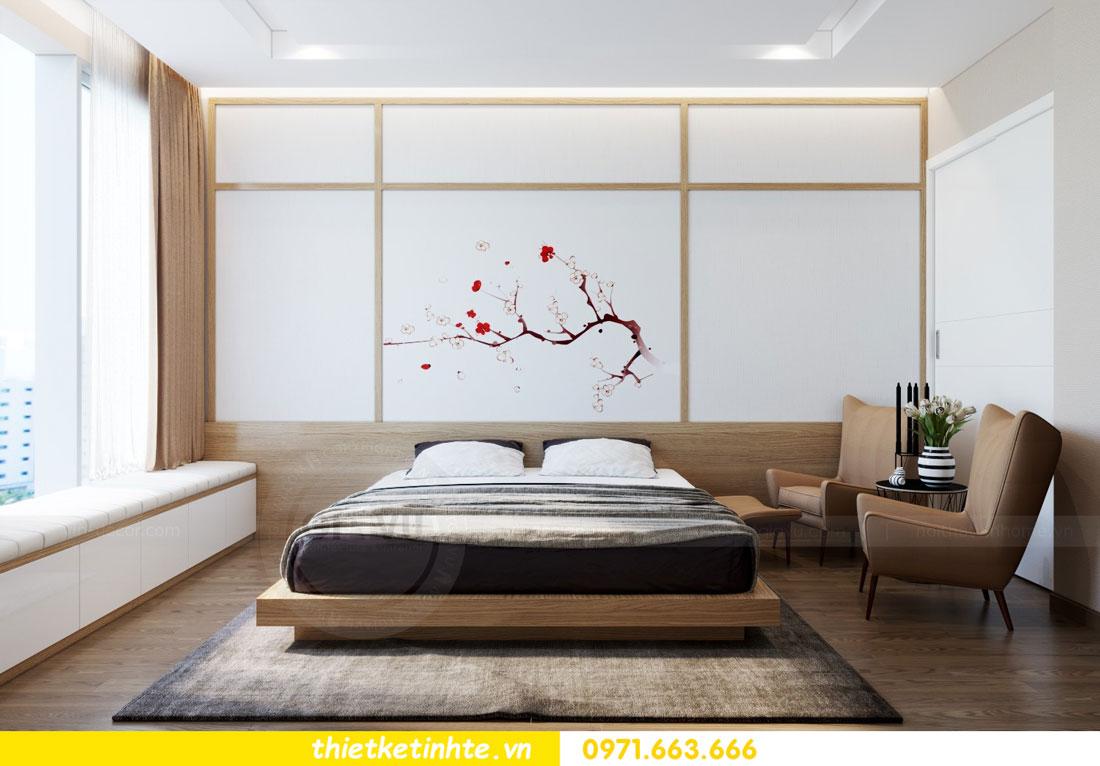 thiết kế nội thất chung cư phong cách Nhật Bản nhà chị Vân 06