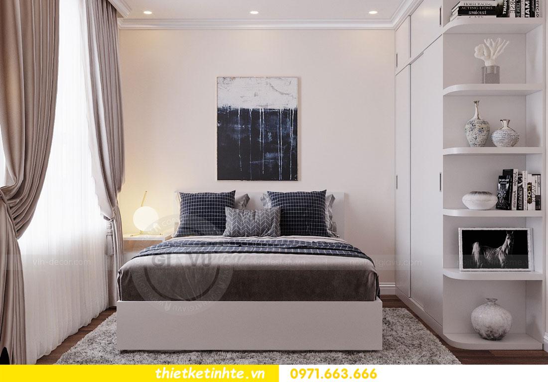 thiết kế nội thất chung cư Vinhomes DCapitale tòa C3 căn 09 10