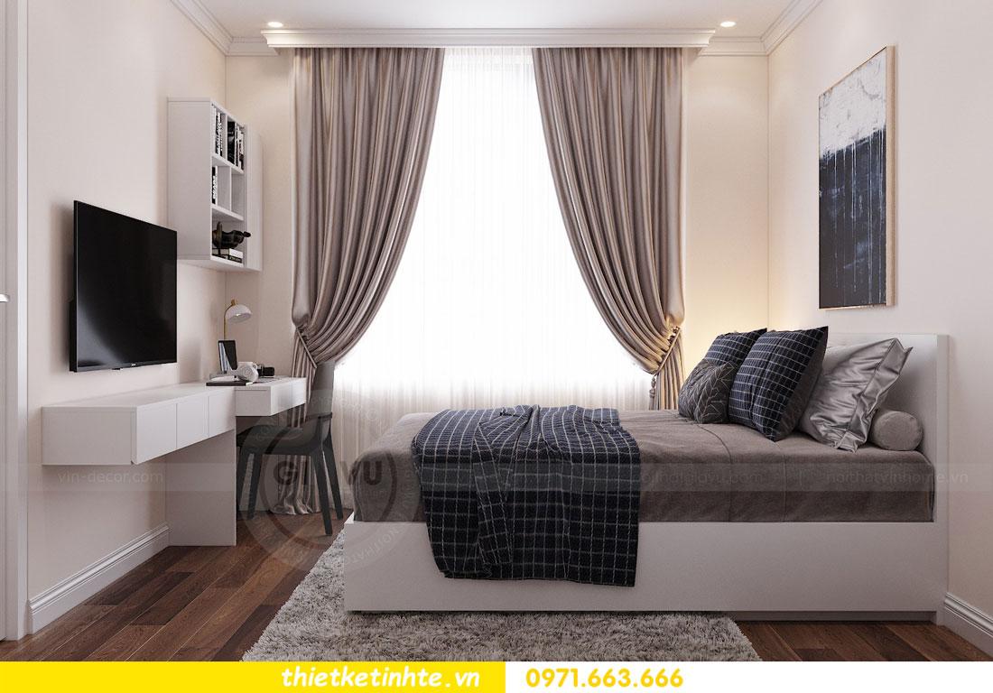 thiết kế nội thất chung cư Vinhomes DCapitale tòa C3 căn 09 11