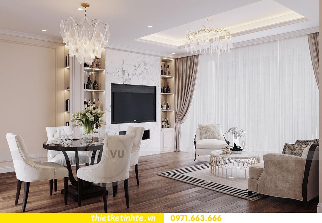 thiết kế nội thất chung cư Vinhomes DCapitale tòa C3 căn 09 2