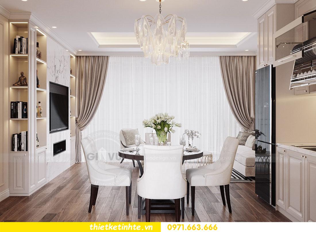 thiết kế nội thất chung cư Vinhomes DCapitale tòa C3 căn 09 3