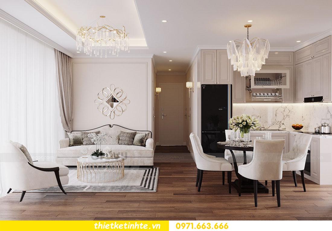 thiết kế nội thất chung cư Vinhomes DCapitale tòa C3 căn 09 4