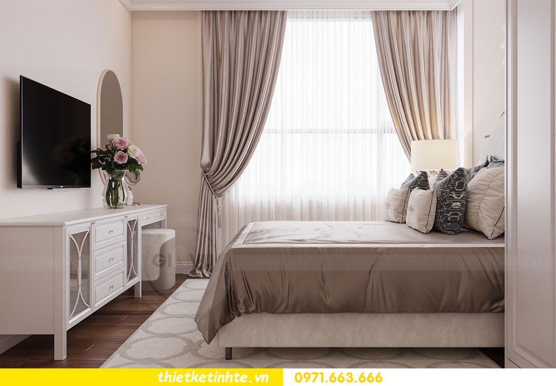 thiết kế nội thất chung cư Vinhomes DCapitale tòa C3 căn 09 5