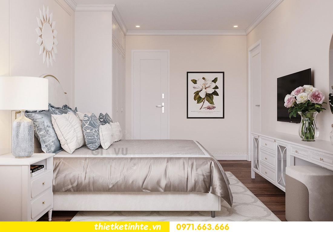 thiết kế nội thất chung cư Vinhomes DCapitale tòa C3 căn 09 7