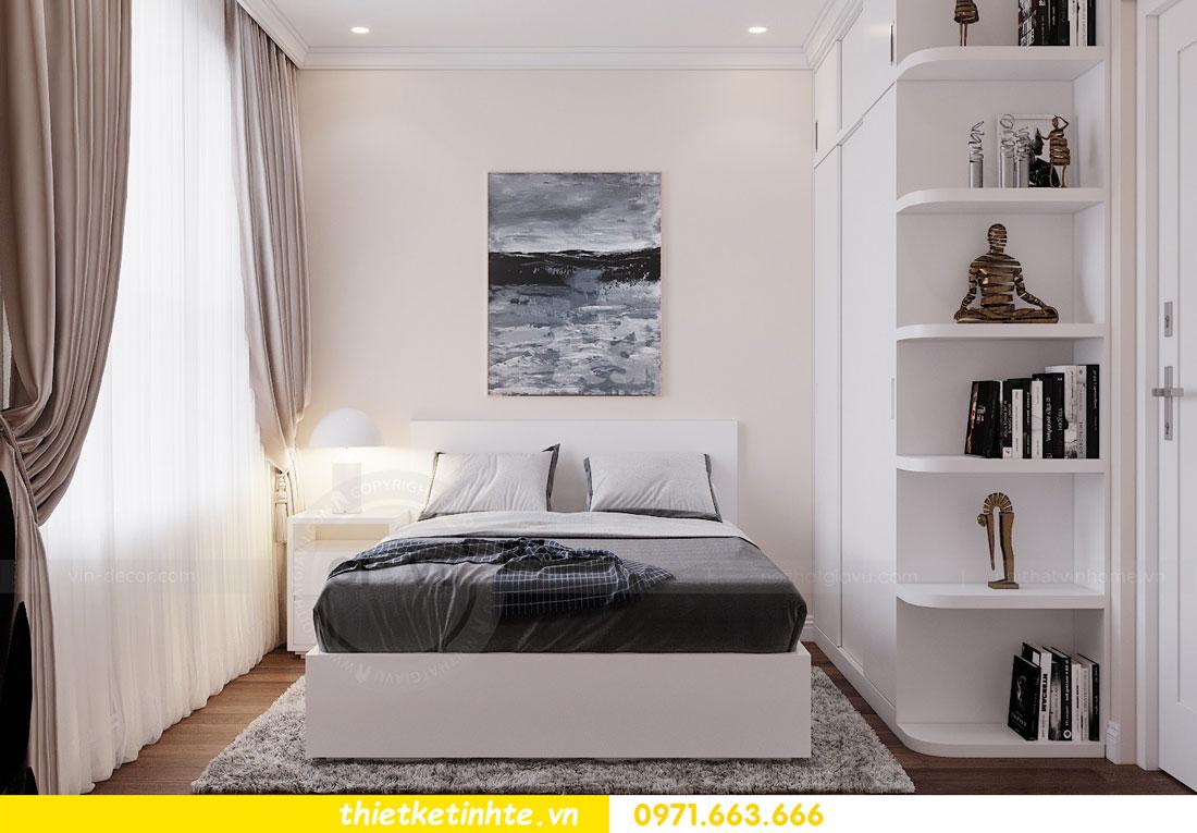 thiết kế nội thất chung cư Vinhomes DCapitale tòa C3 căn 09 9