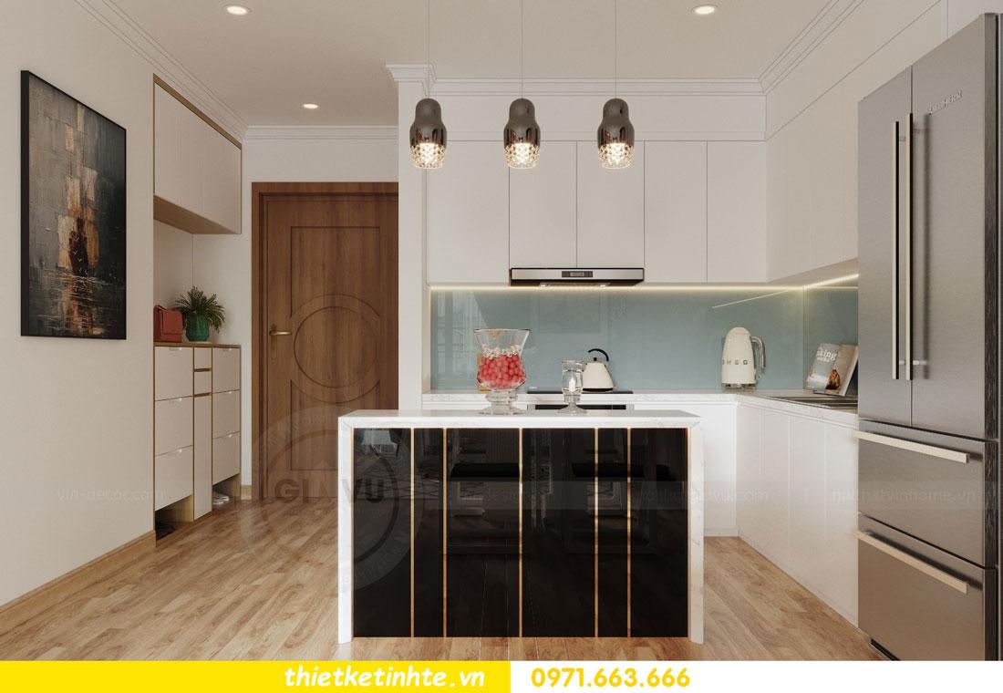 thiết kế nội thất chung cư Vinhomes Park Hill tòa P2 căn 08 1