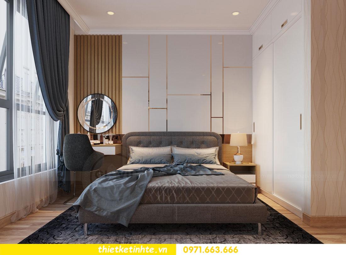 thiết kế nội thất chung cư Vinhomes Park Hill tòa P2 căn 08 6