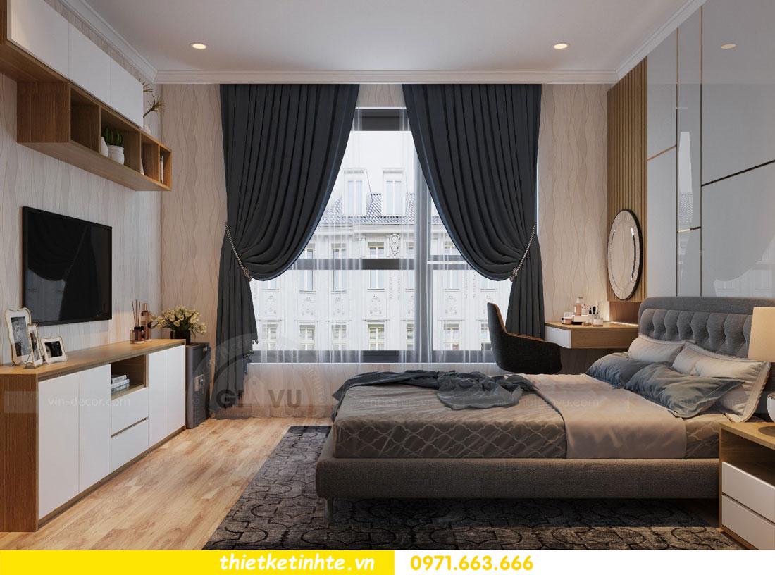thiết kế nội thất chung cư Vinhomes Park Hill tòa P2 căn 08 7