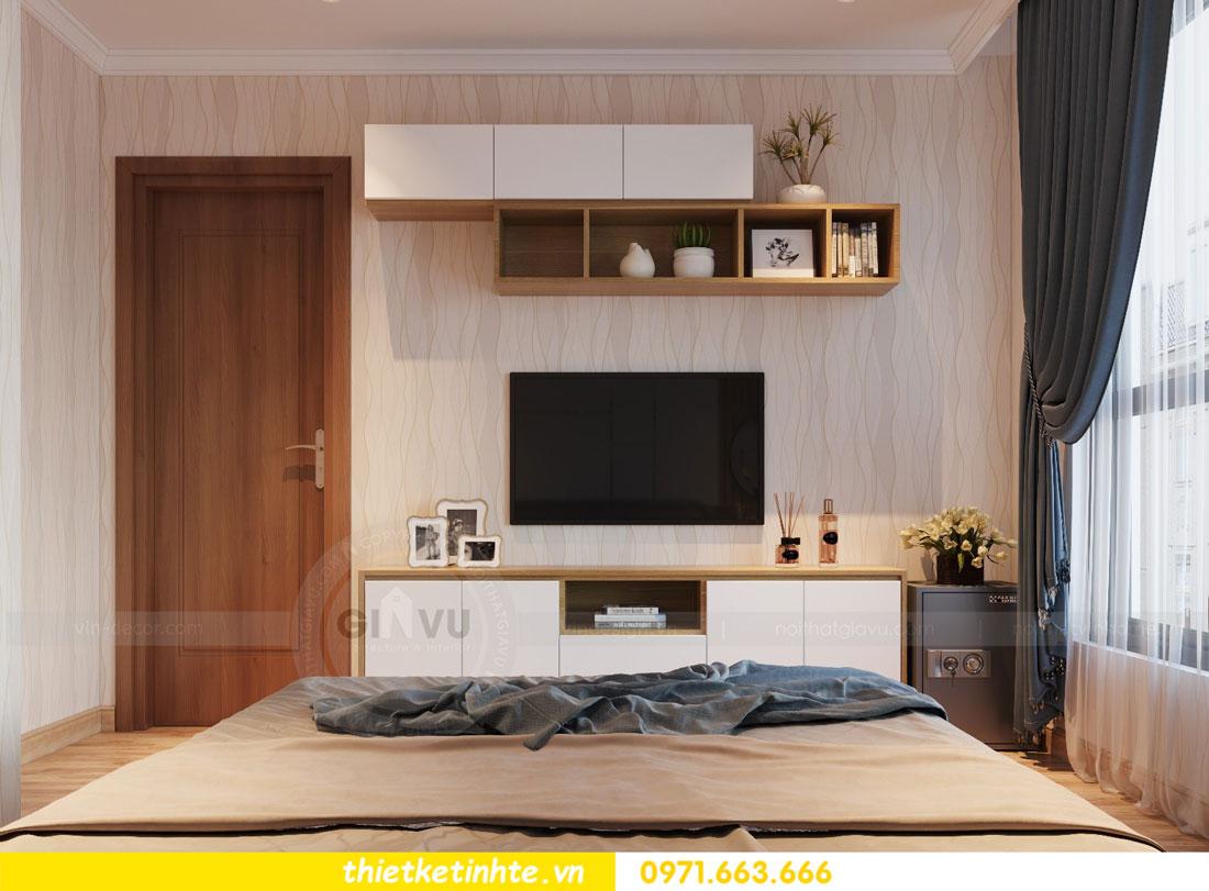 thiết kế nội thất chung cư Vinhomes Park Hill tòa P2 căn 08 8