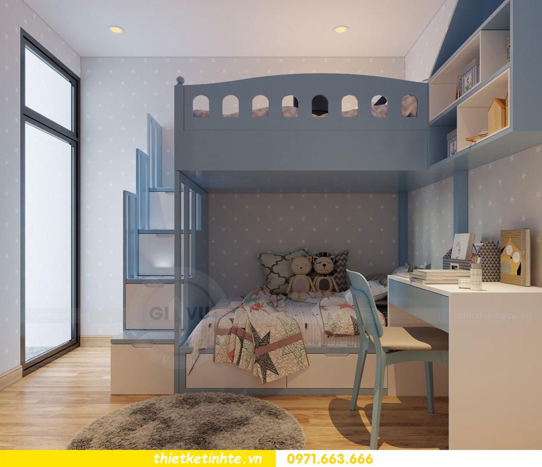 thiết kế nội thất chung cư Vinhomes Park Hill tòa P2 căn 08 9