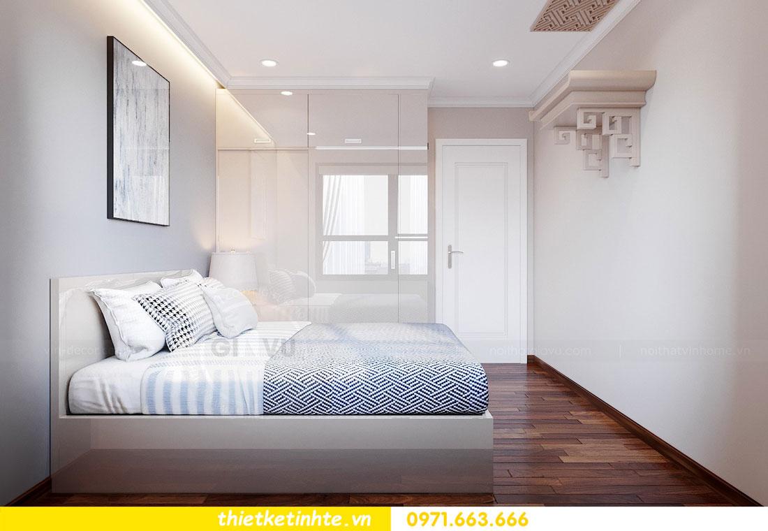 thiết kế nội thất chung cư với gỗ Acrylic nhà chị Huệ 09
