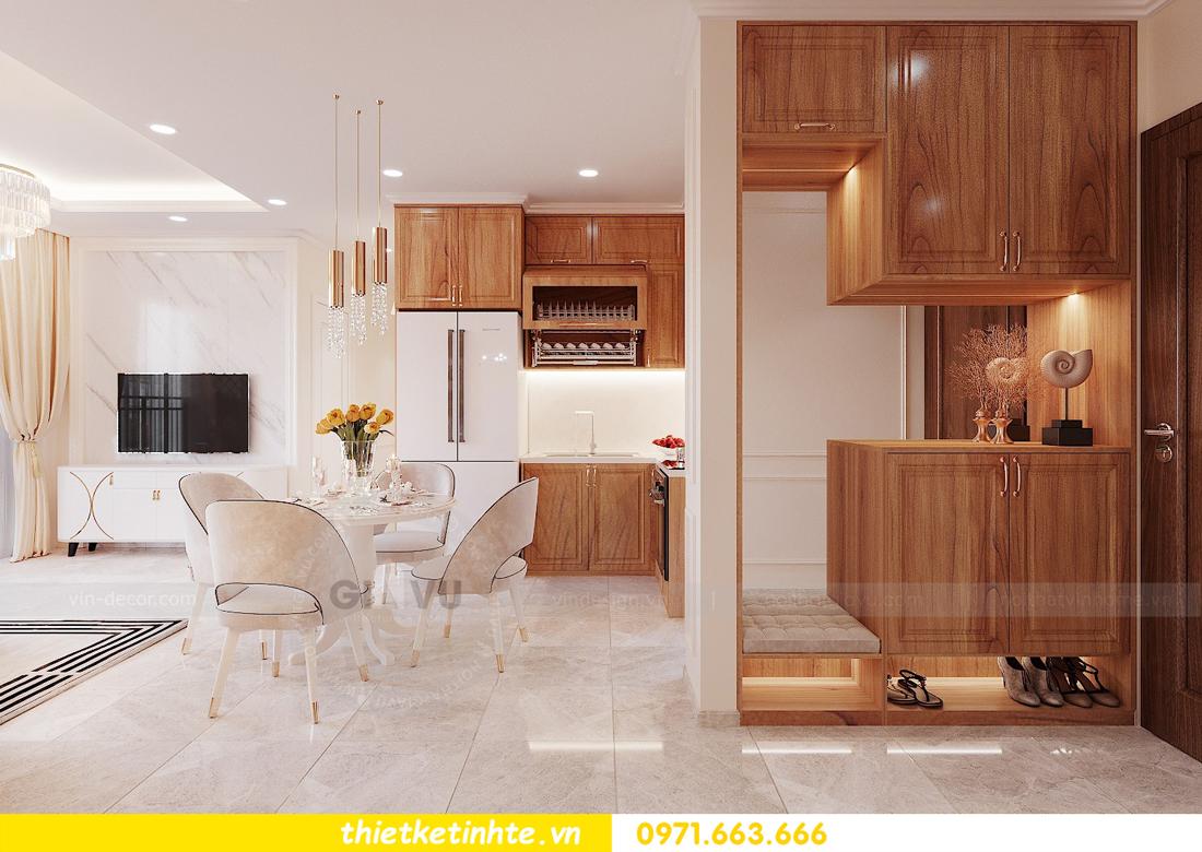 thiết kế nội thất chung cư với gỗ Sồi tại DCapitale anh Phương 01