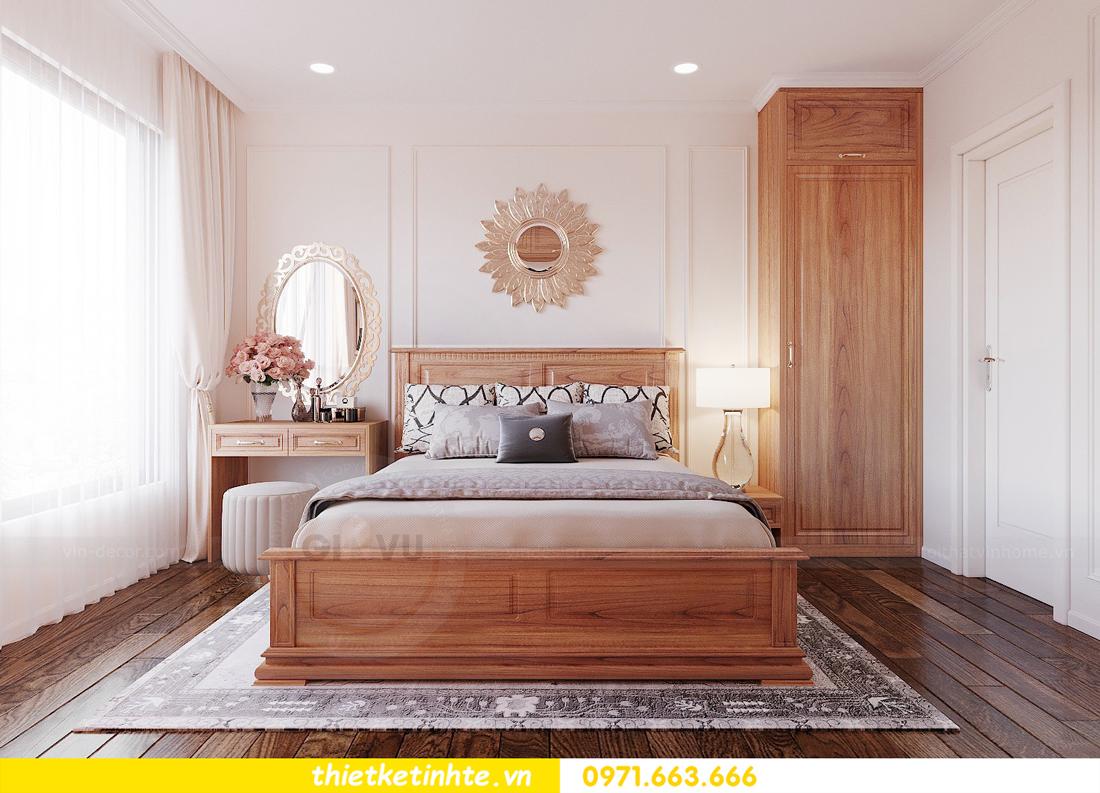 thiết kế nội thất chung cư với gỗ Sồi tại DCapitale anh Phương 06