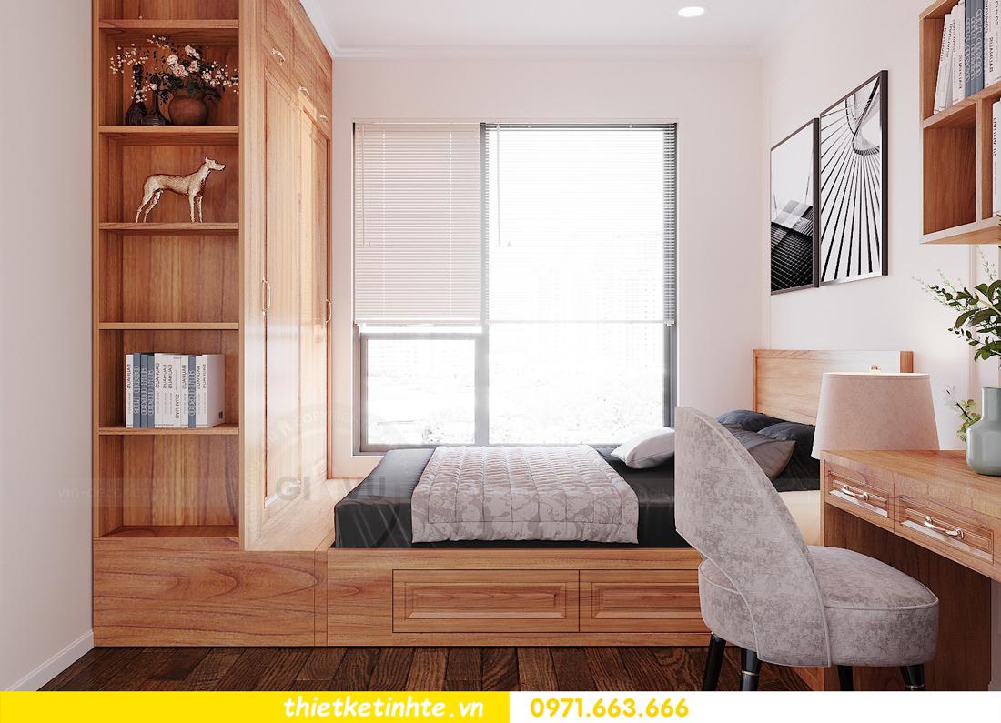 thiết kế nội thất chung cư với gỗ Sồi tại DCapitale anh Phương 10