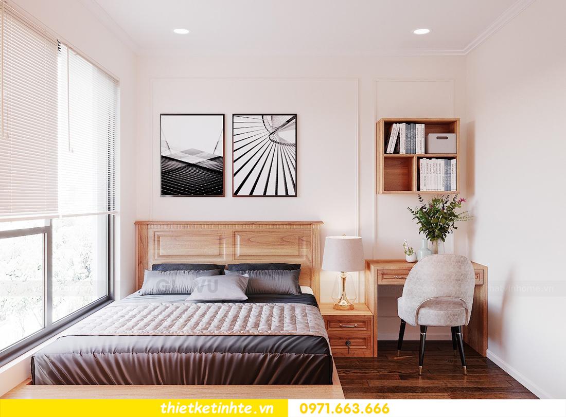 thiết kế nội thất chung cư với gỗ Sồi tại DCapitale anh Phương 11