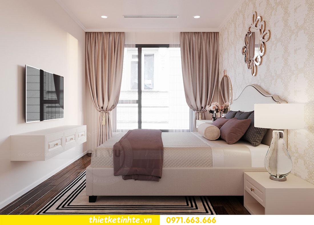 thiết kế nội thất tòa C6 căn 04 chung cư DCapitale chị Ưu 09