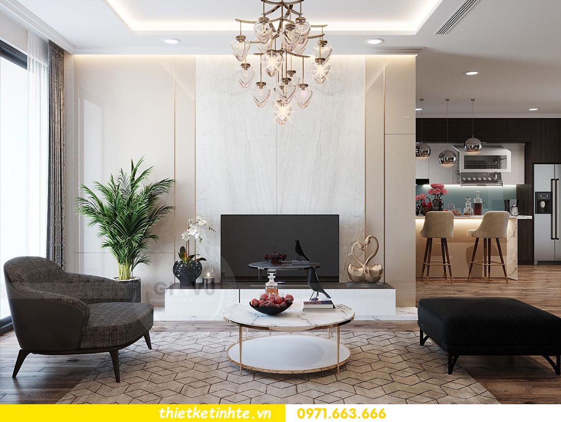 thiết kế thi công nội thất chung cư Park Hill P712 anh Điệp 03