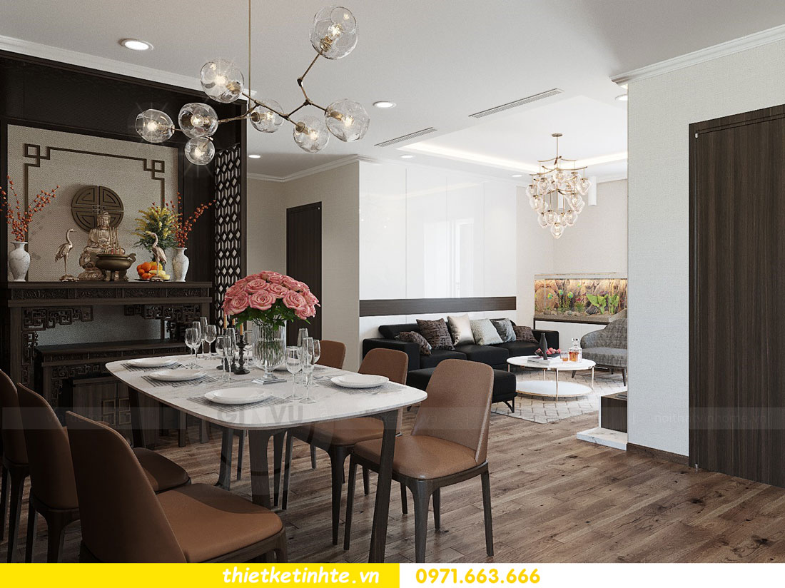 thiết kế thi công nội thất chung cư Park Hill P712 anh Điệp 05