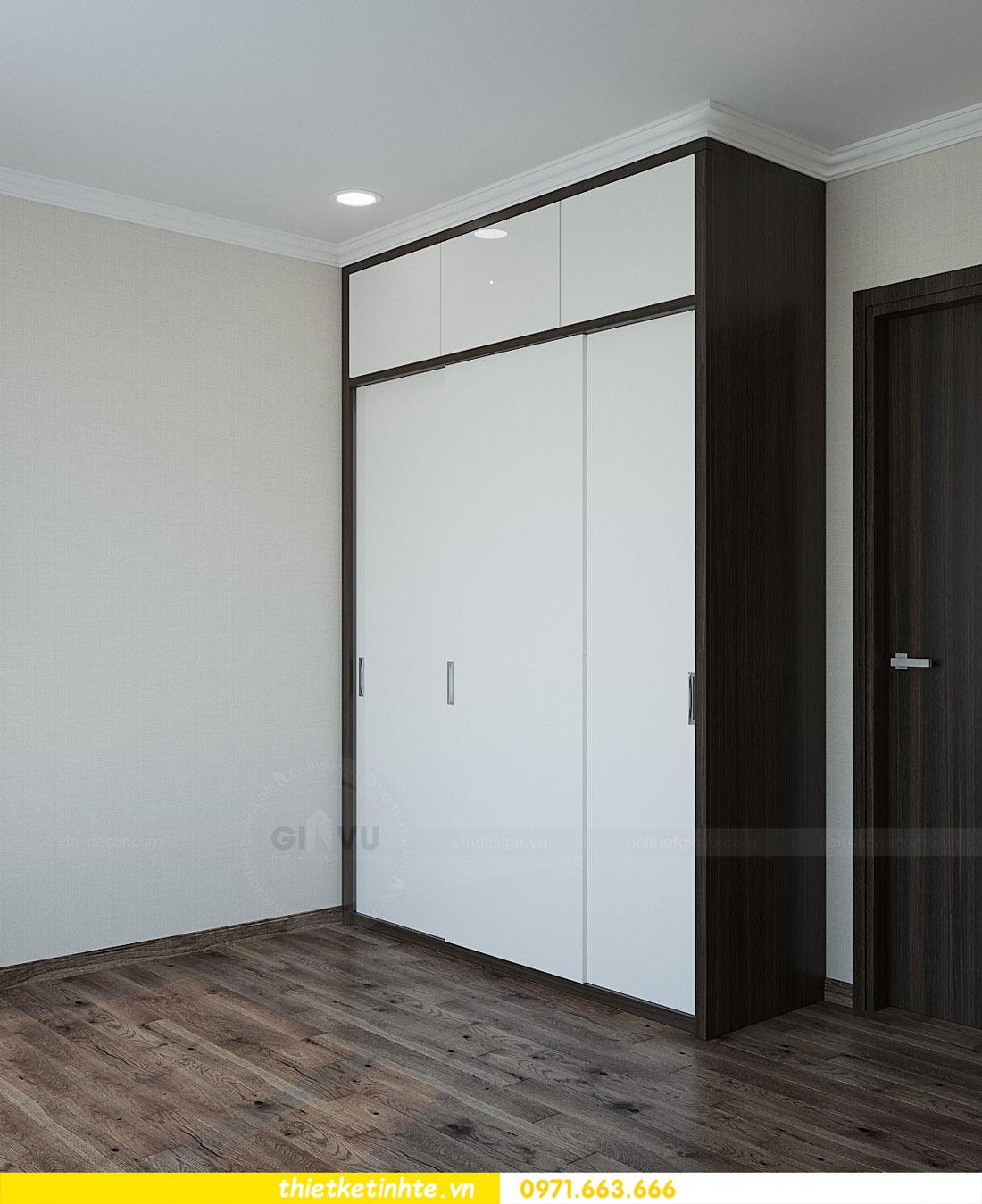 thiết kế thi công nội thất chung cư Park Hill P712 anh Điệp 12